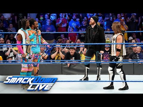 "AJ Styles & Sami Zayn take advantage of the ""Wild Card Rule"": SmackDown LIVE, May 7, 2019"