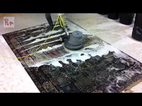 Handmade rug washing in London