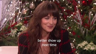 Dakota Johnson Is My Favorite Comedian