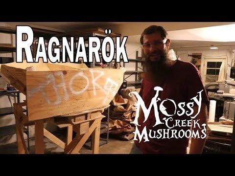 Ragnarok For Thor - Breaking Down Of The Old Mushroom Bagging Machine From Mossy Creek Mushrooms