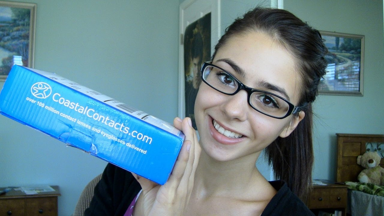96e3298076d How To  Makeup For Glasses ft. Coastal Contacts Review - YouTube