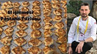 Pastanelerde çıkan ORİJİNAL Tuzlu kurabiye 👌 EL İŞİ TUZLU KURABİYE