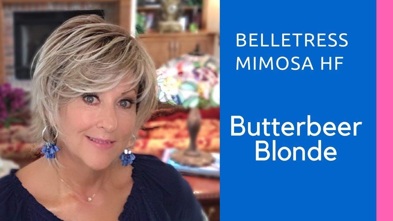Belle Blond belletress mimosa butterbeer blonde - youtube