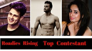 MTV Roadies Rising--Top 7 Contestant ? MTV Roadies Rising 2017 Contestants Names