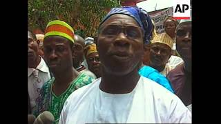 NIGERIA: PRESIDENTIAL ELECTIONS CAMPAIGN