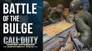 THE BATTLE OF THE BULGE | Call of Duty: United Offensive Playthrough #1