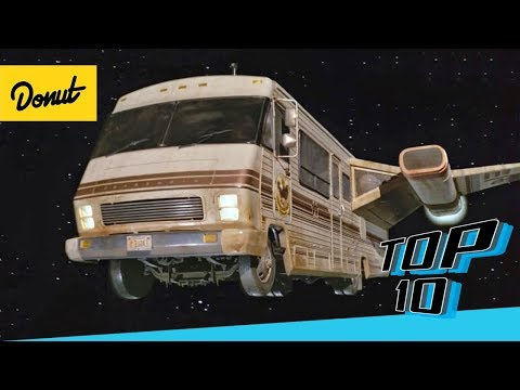 Top 10 Most Hilarious Movie Cars | Donut Media