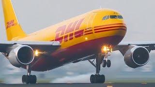 DHL AIRBUS 300 Near GO AROUND - ASKCargo 009#
