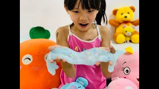 PLAY   Cách làm #slime đơn giản, an toàn mà bé nào cũng có thể làm được