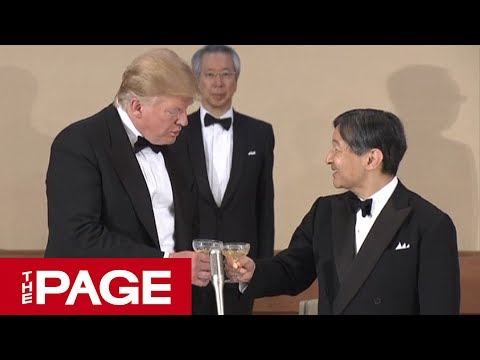 大相撲表彰式 トランプ大統領「May 26, Reiwa One」日付に元号を使用 場内から歓声