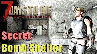 7 Days to Die - Secret Underground Bunker - Hidden Fallout Shelter