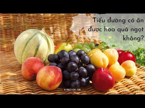 Bệnh tiểu đường có ăn được trái cây ngọt không?