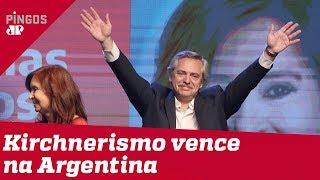 Eleições na Argentina: Kirchnerismo vence em primeiro turno