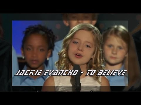 Jackie Evancho To Believe HD