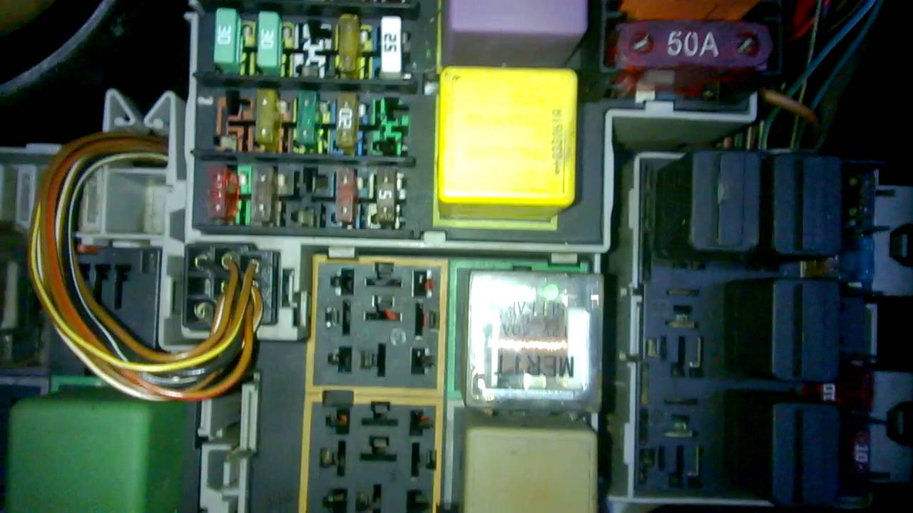 gm corsa 2004 fuse box diagram opel corsa sİgorta kutusu - fuse box - youtube