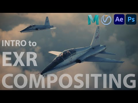 VFX Plane Compositing - Full-Length Visual Effects Tutorial for Maya, V-Ray, & After Effects