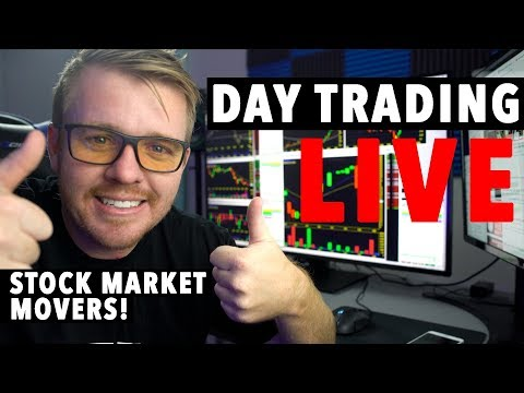 DAY TRADING LIVE NOW! Momentum Stocks