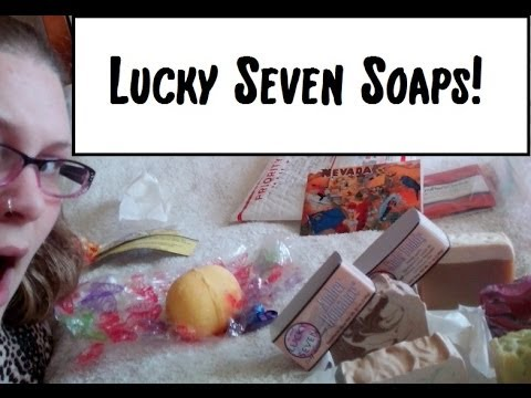 StarrSoaps haul/review of Lucky Sevens Soap Co