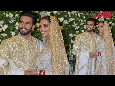 Ranveer Singh & Deepika Padukone Wedding Reception in Mumbai - First Visuals