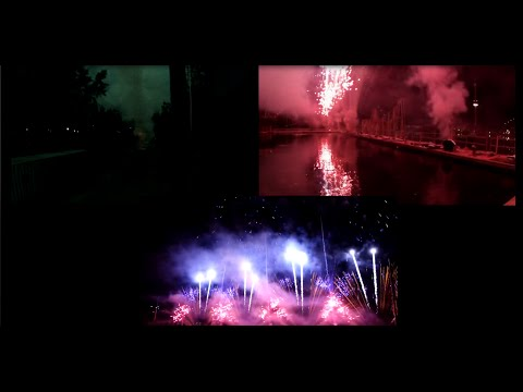 Vulcan Fireworks at the 2015 Montreal Competition
