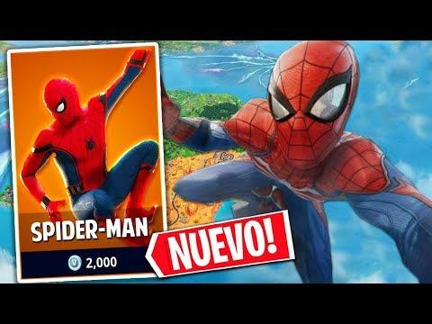 **NUEVO MODO DE JUEGO**  Y SKIN DE SPIDER-MAN EN FORTNITE!!