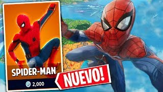 **NEW GAME MODE** AND SPIDER-MAN SKIN IN FORTNITE!!