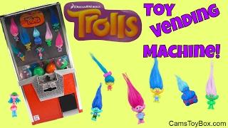 Dreamworks Trolls Toys Vending Machine Blind Bags Series 3 Names Surprises Fun Kids Toy