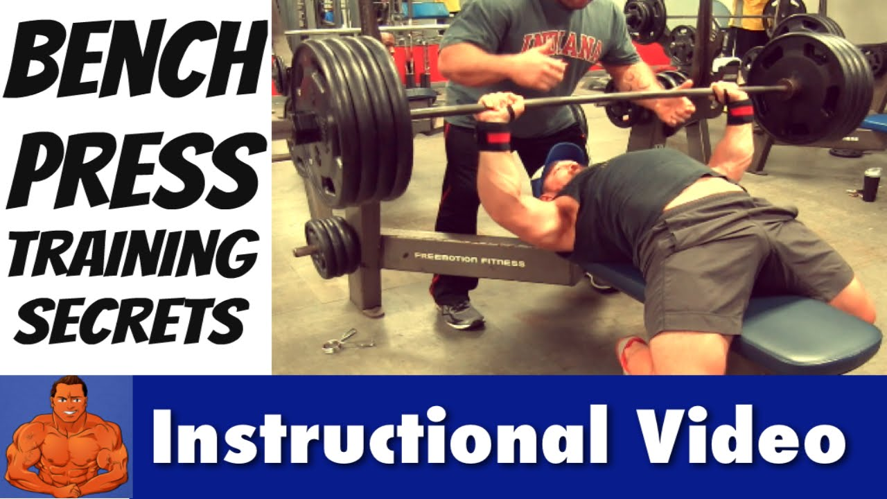 man up master the bench press how to lift more weight