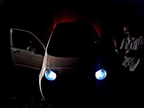 Flame thrower exhaust Daewoo Matiz 11SKT - YouTube