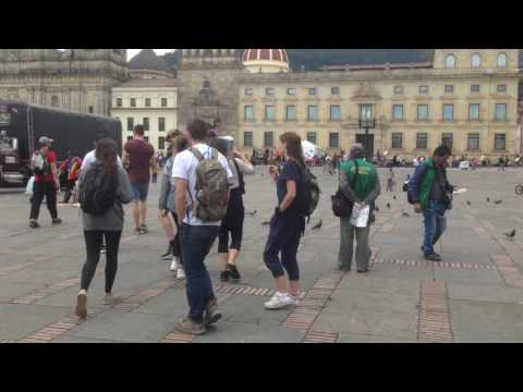 Walking in bogota with mates #5