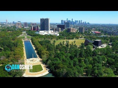 Drone Tour Of Houston Texas | Dan Oshier Video Productions