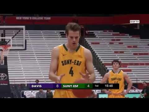 USCAA College Basketball - Davis College v. SUNY-ESF