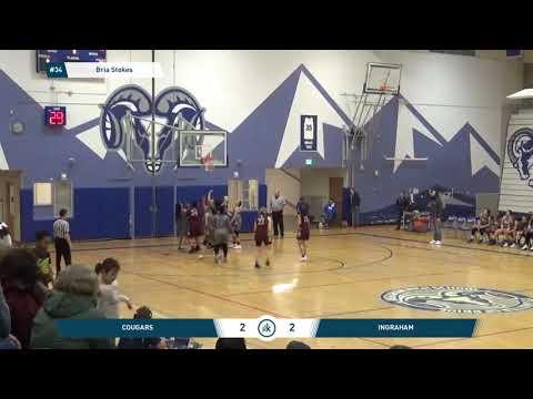 Bria Stokes#34 Junior Season ( Holy Names Academy)  Seattle, WA
