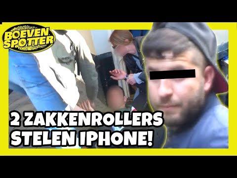 BOEVENSPOTTER - ZAKKENROLLERS STELEN EEN IPHONE !! - #108