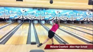 Melanie Crawford - Allen High School Bowling