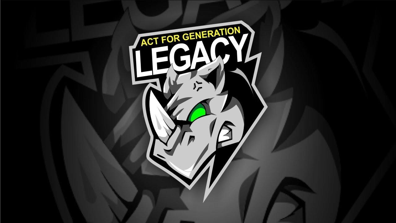 Belajar Desain Logo Esport Act For Generation Legacy | Speed Desain | [ Corel Draw ]