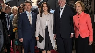 Prince Frederik & Princess Mary visit Germany Day - 2