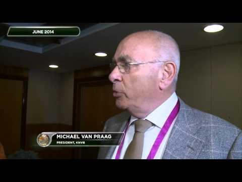 Michael van Praag fordert Sepp Blatter heraus | Niederländer will FIFA-Präsident werden