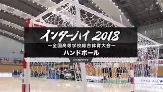 インターハイ2018~全国高等学校総合体育大会~ ハンドボール 決勝
