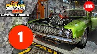 Co ja gram?! #1 Car Mechanic Simulator 2018 (1/3)
