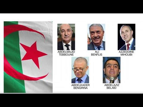 Présidentielle En Algérie : Unique Débat Télévisé Entre Les Cinq Candidats