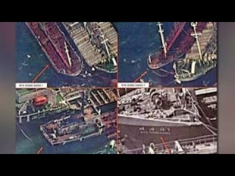 Satellite images reportedly show China selling oil to NKorea
