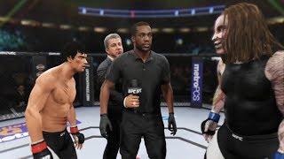 Bruce Lee vs. Bray Wyatt Fiend (EA Sports UFC 2)
