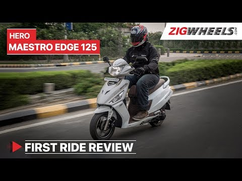Hero Maestro Edge 125 2019 Review | Launch, Price, Specs, Features and more