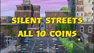 Fortnite Silent Street all 10 Coins Locations | Fortnite Creative | Featured | TTV-Platinmus