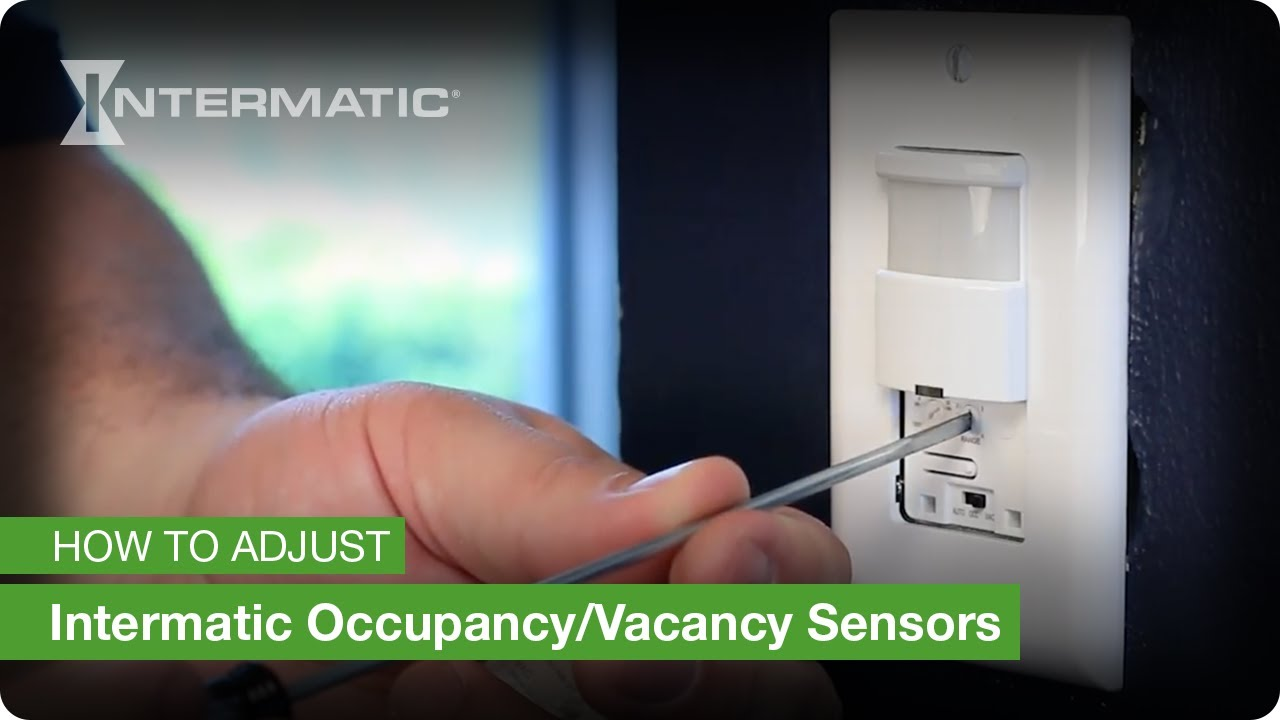 How To Adjust Intermatic Occupancy Vacancy Sensors Youtube Led Dimming Wiring Diagram Dimmer Switch For Strobe Premium