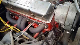 1963 Impala 327 Engine Holley Carb