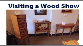 Visiting A Wood Furniture Show - A Woodworkweb Woodworking Video
