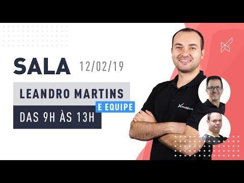 SALA AO VIVO - LEANDRO MARTINS no modalmais 12.02.2019
