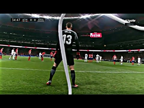 JAN OBLAK VS. REAL MADRID | GOALKEEPER SAVES | DERBY | 18-11-17 | HD |